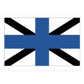 Estonia Naval Jack Postcard