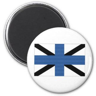Estonia Naval Jack Refrigerator Magnet