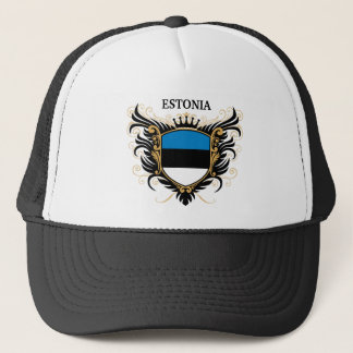 Estonia [personalize] trucker hat