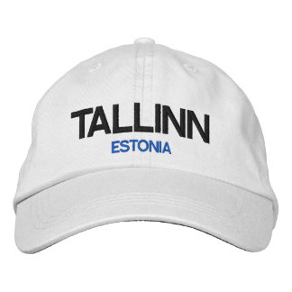 Estonia Tallinn Personalized Adjustable Hat