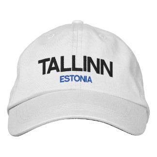 Estonia Tallinn Personalized Adjustable Hat Embroidered Hats
