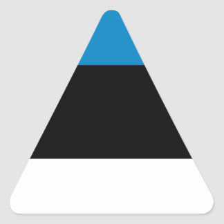Estonia Triangle Sticker