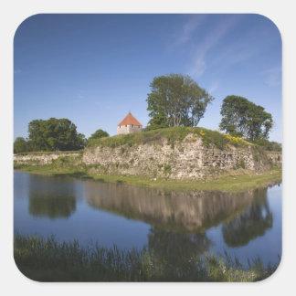 Estonia, Western Estonia Islands, Saaremaa 2 Square Sticker