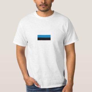 Estonian Flag Tee Shirt