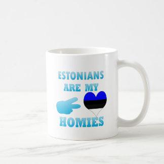 Estonians are my Homies Basic White Mug