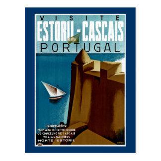 Estoril-Cascais in Portugal Postcards