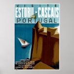 Estoril-Cascais in Portugal Print