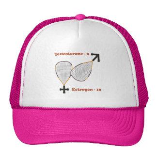 Estrogen Wins Racquetball Mesh Hats
