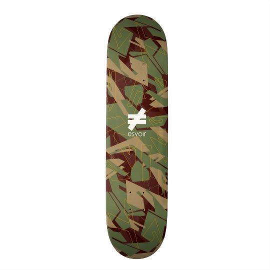 Esvoir Camo Mark 4 21.3 Cm Mini Skateboard