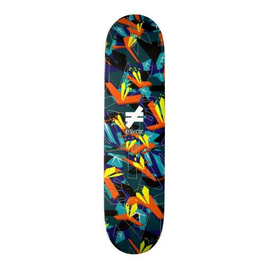 Esvoir Camo Mark 5 Heliconias Skateboard