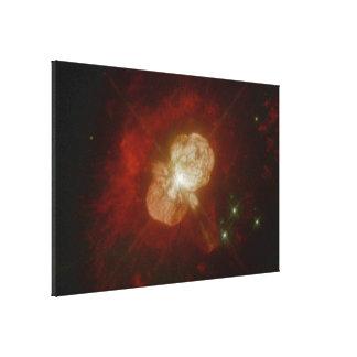 Eta Carinae- A Star On the Brink of Destruction Canvas Print