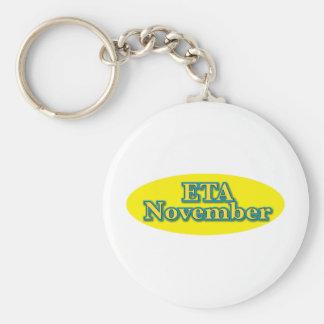 ETA Nov Basic Round Button Key Ring