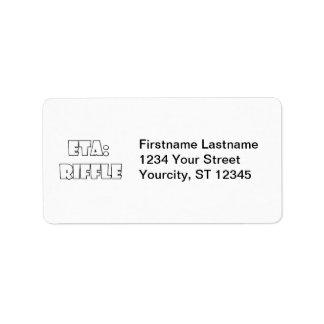 ETA: Riffle Address Label