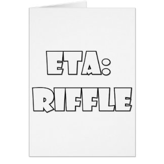 ETA: Riffle Greeting Cards