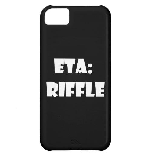 ETA: Riffle iPhone 5C Cover