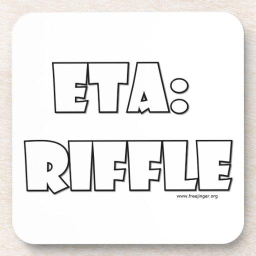 ETA: Riffle Beverage Coaster