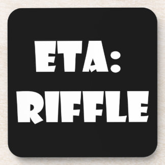 ETA Riffle Beverage Coaster