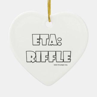 ETA: Riffle Christmas Ornament