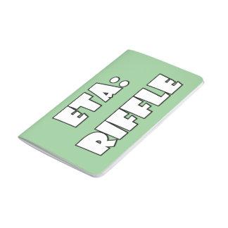 ETA: Riffle Journals