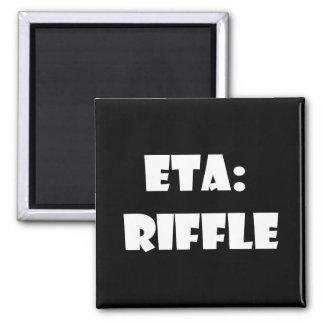 ETA Riffle Refrigerator Magnets