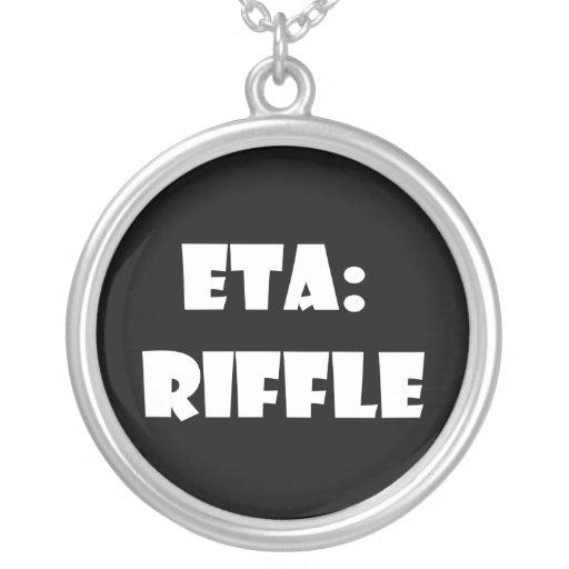 ETA: Riffle Pendants