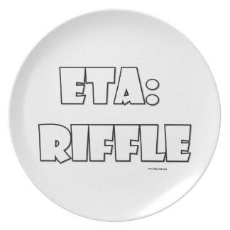 ETA: Riffle Dinner Plates
