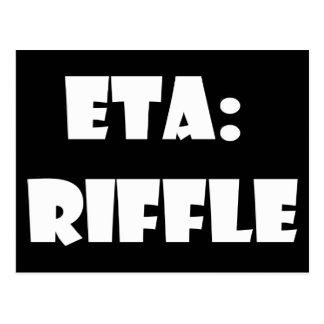ETA: Riffle Postcard