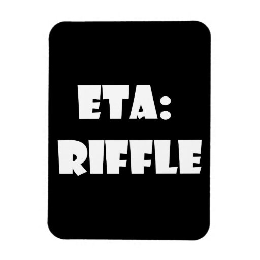 ETA: Riffle Vinyl Magnet