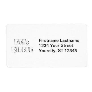 ETA: Riffle Shipping Label