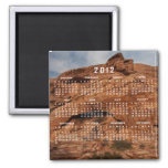 Etched by Time; 2012 Calendar Magnet