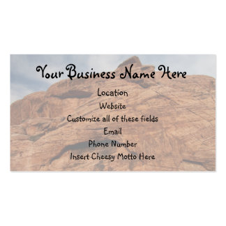 Etched by Time Business Card Template