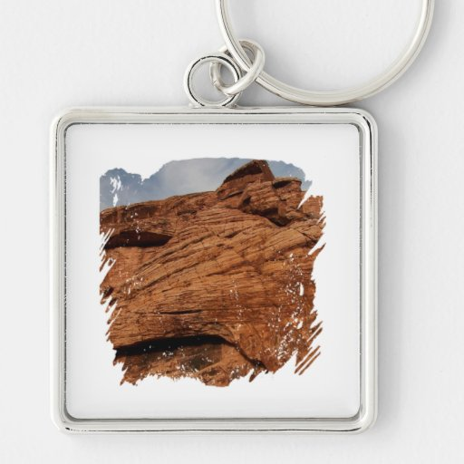 Etched by Time; No Text Key Chains