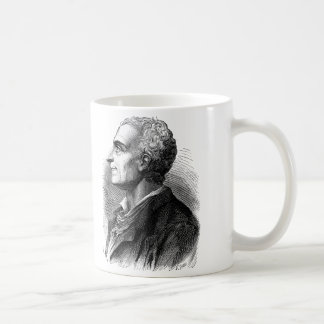 Etched Portrait of Montesquieu by Emile Bayard Coffee Mug