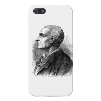 Etched Portrait of Montesquieu by Emile Bayard Cover For iPhone 5
