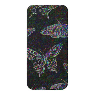 Etched Rainbow Butterflies iPhone 5 Cover