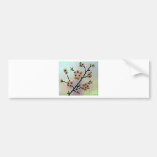 Eternal Almond Flowers Bumper Sticker
