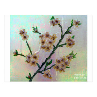 Eternal Almond Flowers Postcard