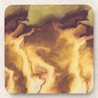 Eternal Flame Cork Coaster