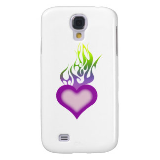 Eternal Flame Galaxy S4 Covers
