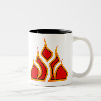 Eternal Flame Two-Tone Coffee Mug