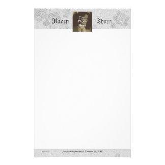 Eternal Handfasting/Wedding Suite Gothic White Customised Stationery