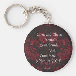 Eternal Handfasting/Wedding Suite Key Ring