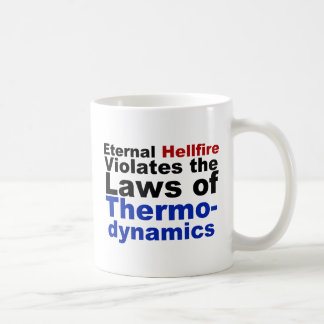 Eternal Hellfire Violates Thermodynamics Coffee Mug