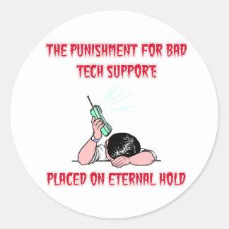 Eternal Hold Sticker