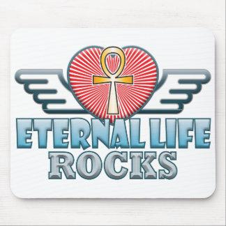 Eternal Life Rocks Mouse Pad