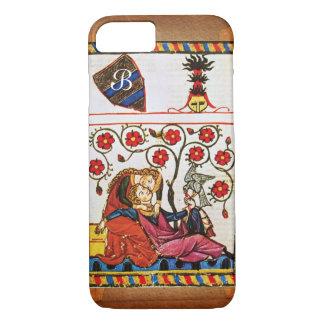 ETERNAL LOVE MONOGRAM parchment iPhone 7 Case
