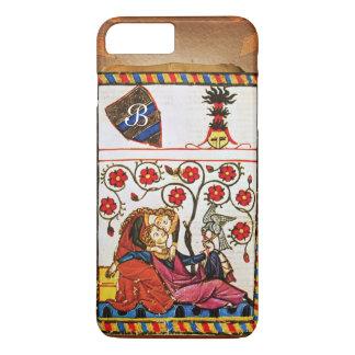 ETERNAL LOVE MONOGRAM parchment iPhone 8 Plus/7 Plus Case