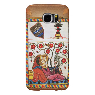 ETERNAL LOVE MONOGRAM parchment Samsung Galaxy S6 Cases