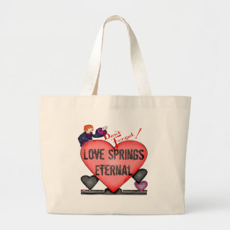 Eternal Love T-shirts and Gifts Jumbo Tote Bag