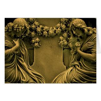 Eternal Mourning Greeting Card